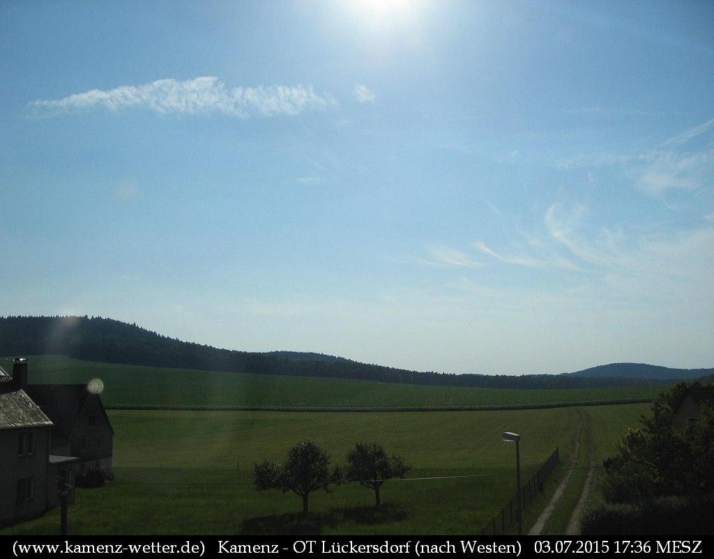 Webcam Kamenz - OT Lückersdorf